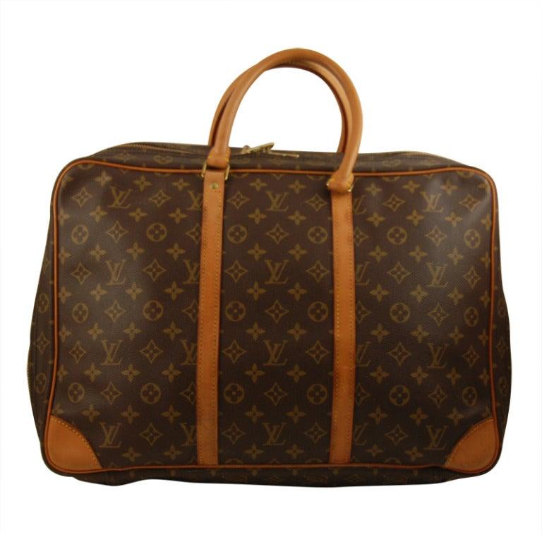 Louis vuitton monogram sirius 45 carry on suitcase at 1stdibs for Louis vuitton bin bags