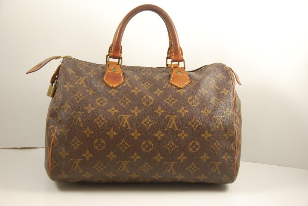 Vintage Louis Vuitton Speedy Bag At 1stdibs