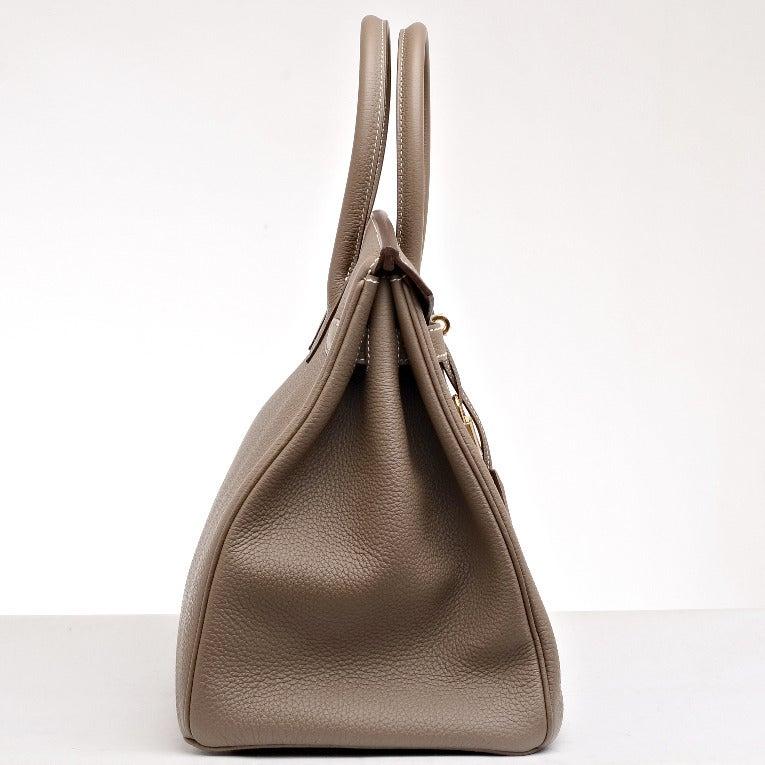 red hermes birkin bag - Hermes Etoupe Togo Birkin 35cm Gold Hardware at 1stdibs