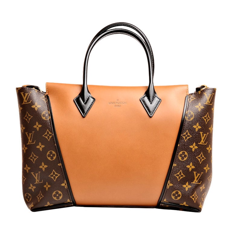 Louis Vuitton Noisette Monogram Canvas And Cuir Orf 232 Vre W