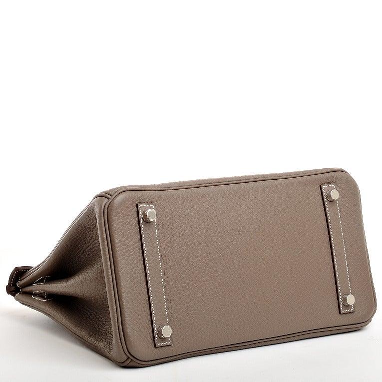 handbags hermes - Hermes Etoupe Togo Birkin 30cm Palladium Hardware at 1stdibs