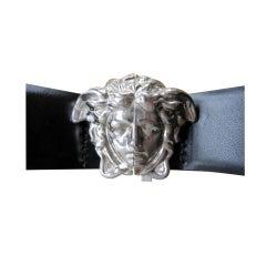 Gianni Versace bold vintage 90's Medusa head belt