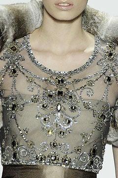 Oscar de la Renta amazing embelished ball gown New 2