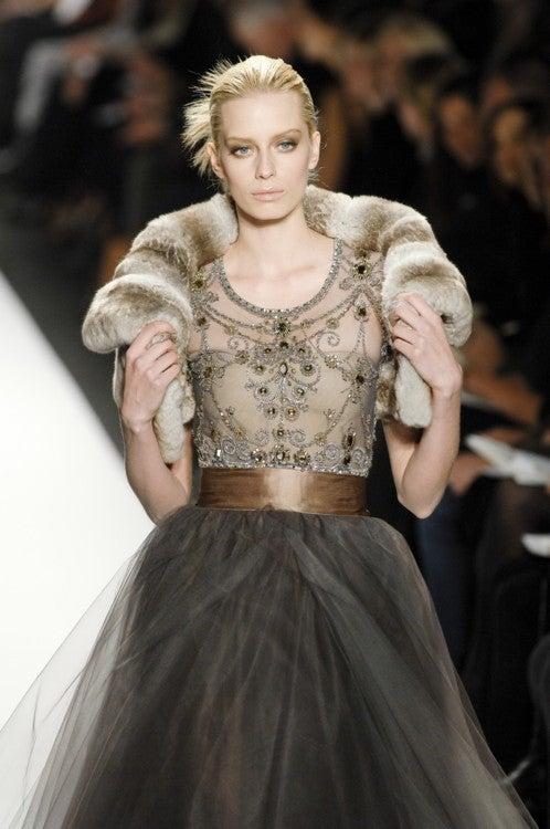 Oscar de la Renta amazing embelished ball gown New 5