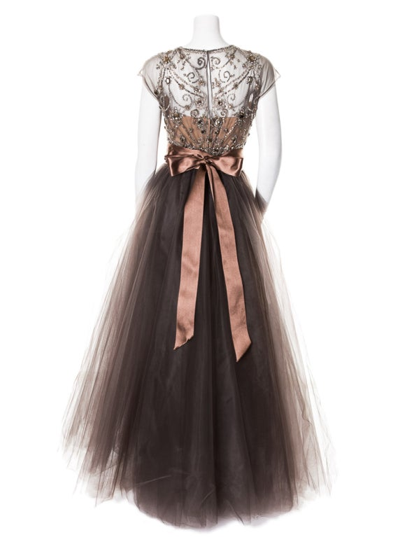 Oscar de la Renta amazing embelished ball gown New 6