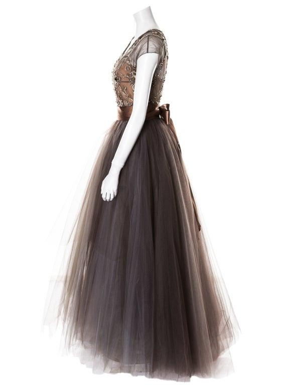 Oscar de la Renta amazing embelished ball gown New 7