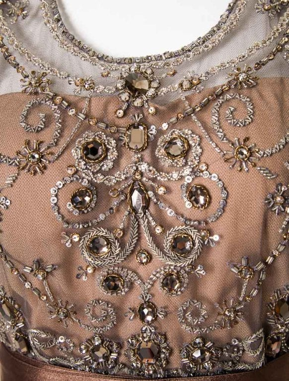 Oscar de la Renta amazing embelished ball gown New 8