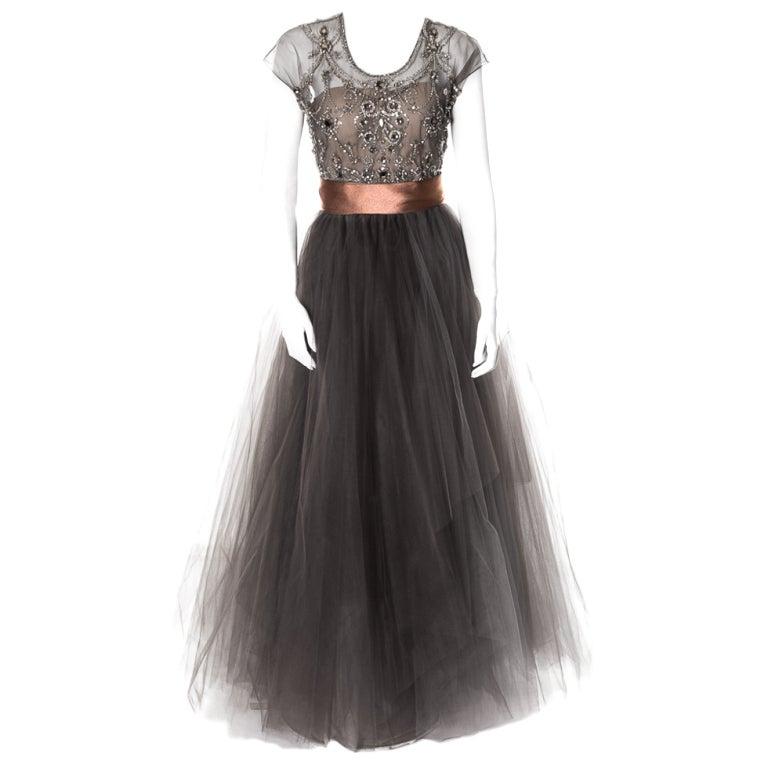 Oscar de la Renta amazing embelished ball gown New 1