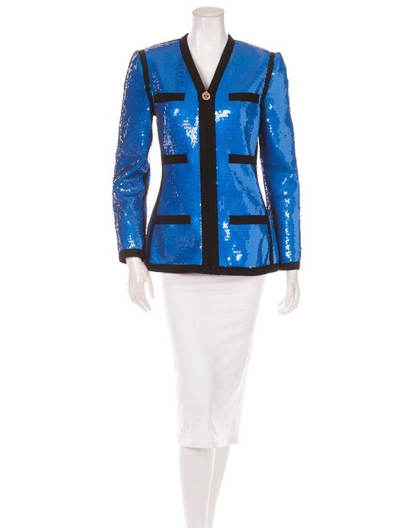 Chanel sequin jacket 1991 3