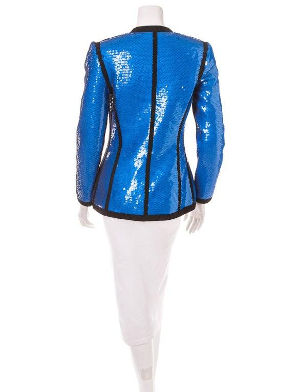 Chanel sequin jacket 1991 4
