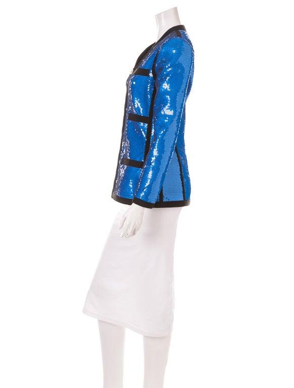 Chanel sequin jacket 1991 5