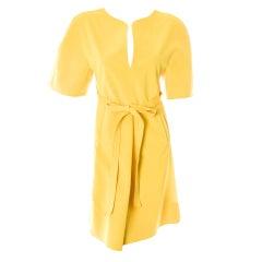 Chado Ralph Rucci Spring 2013 Yellow Dress New w Tags