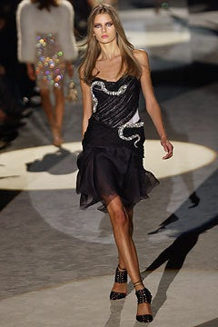 Rare Gucci by Tom Ford Fall 2004 Snake Dress 3