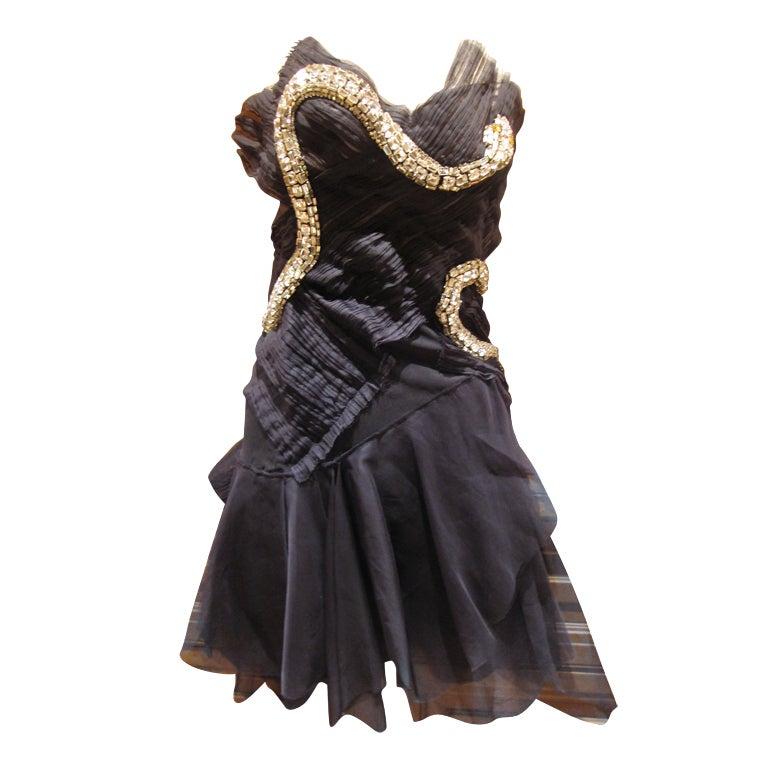 Rare Gucci by Tom Ford Fall 2004 Snake Dress 1