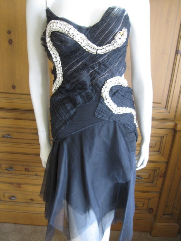 Rare Gucci by Tom Ford Fall 2004 Snake Dress 2