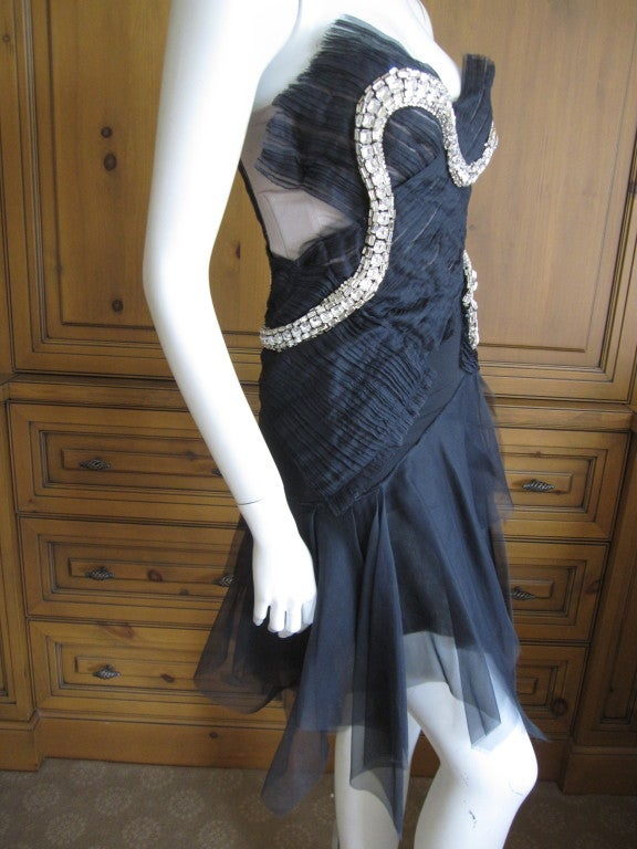 Rare Gucci by Tom Ford Fall 2004 Snake Dress 8