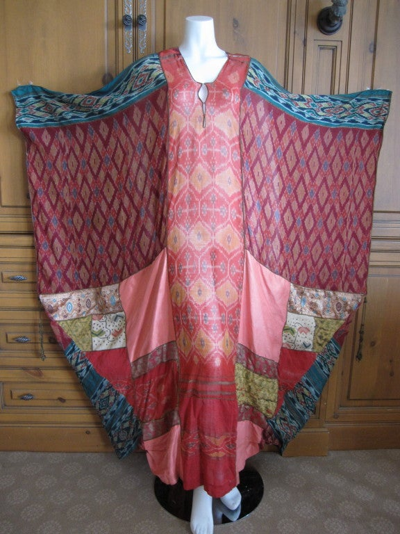 Thea Porter Couture folkloric patchwork caftan 2