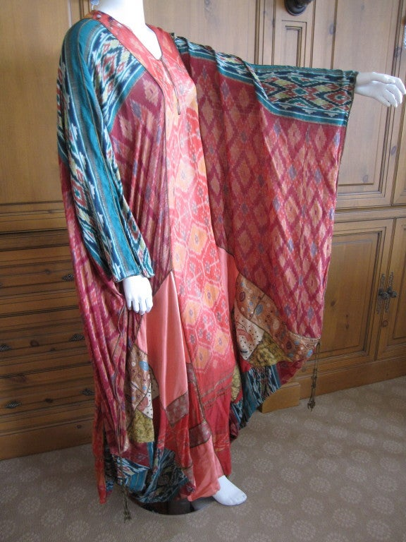 Thea Porter Couture folkloric patchwork caftan 3