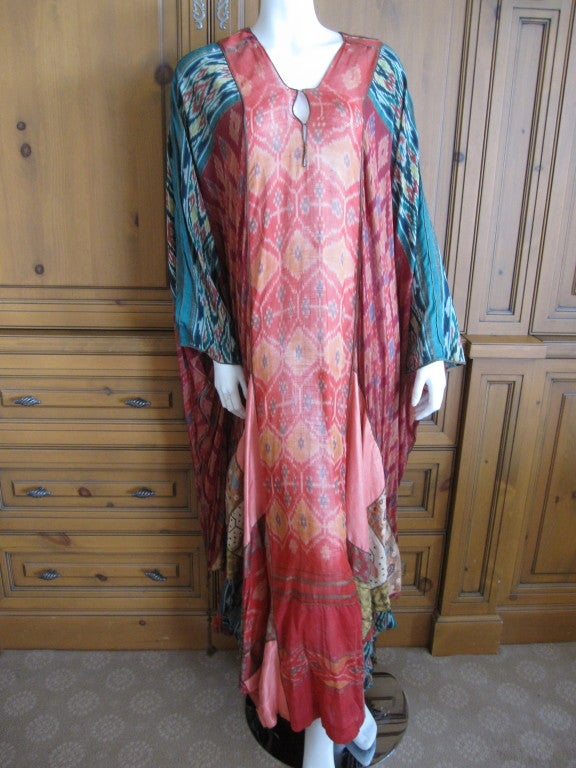 Thea Porter Couture folkloric patchwork caftan 4