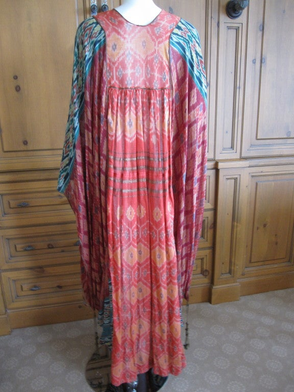 Thea Porter Couture folkloric patchwork caftan 6
