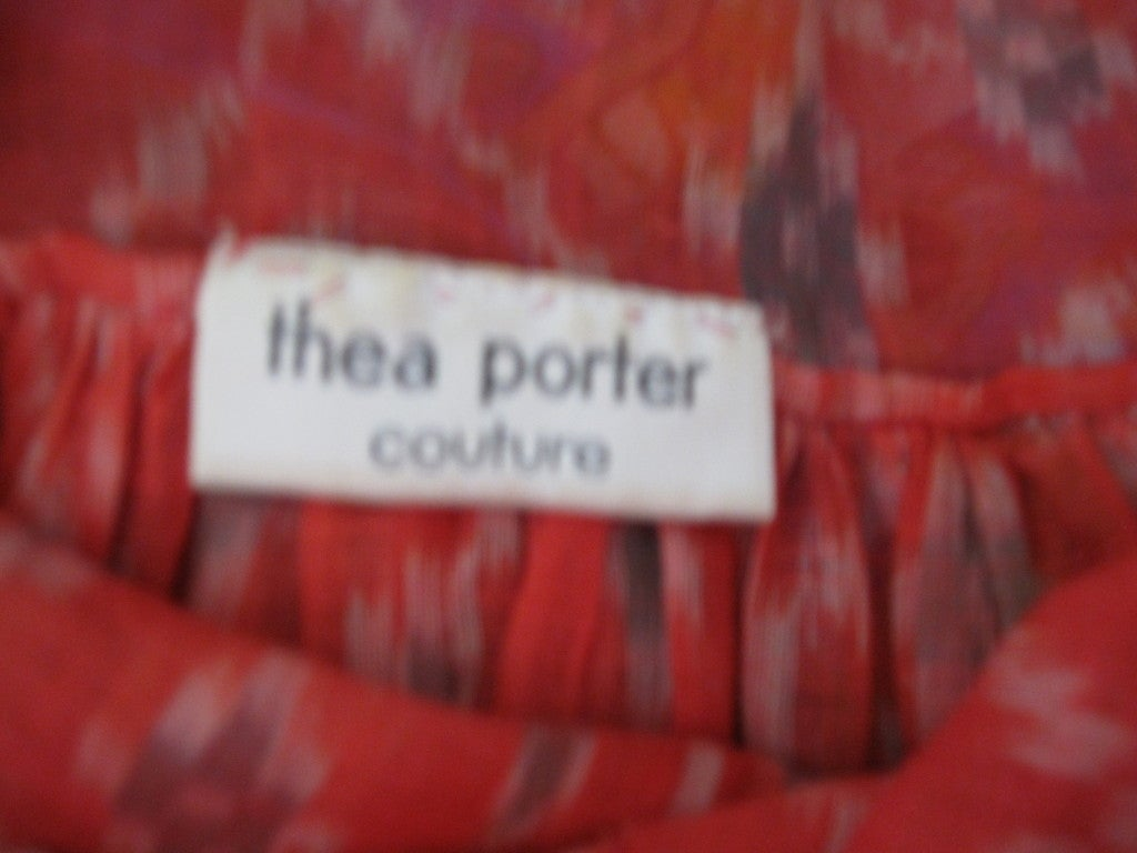 Thea Porter Couture folkloric patchwork caftan 8