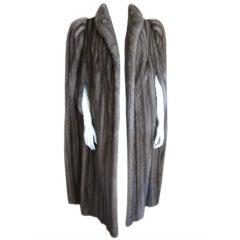 Christian Dior full length mink cape