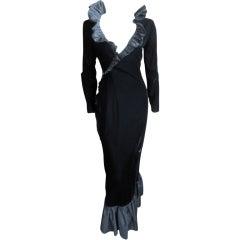 Bill Blass Belle Poitrine sweetheart neckline dress sz 6-8
