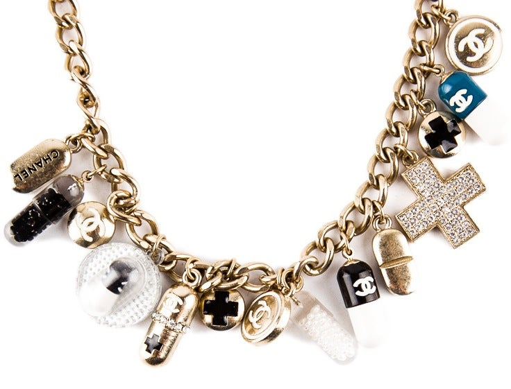 Chanel Impossible to find PILL necklace 2007 2