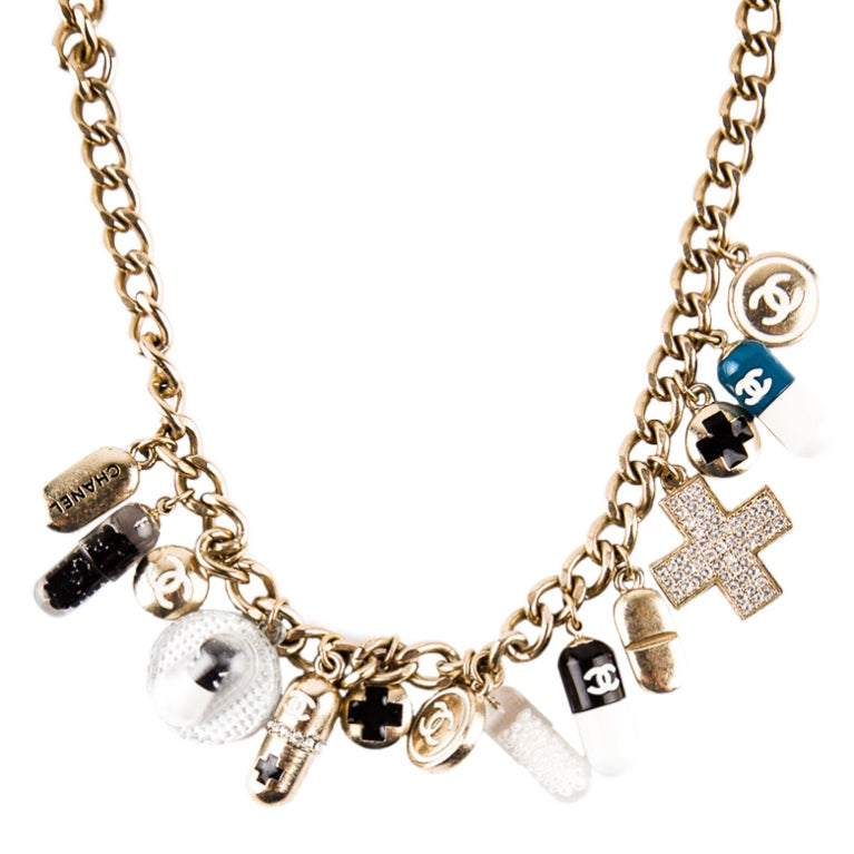 Chanel Impossible to find PILL necklace 2007 1