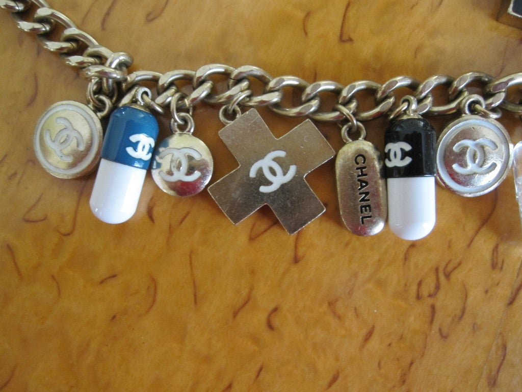 Chanel Impossible to find PILL necklace 2007 6