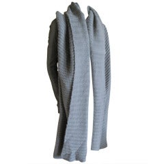 Rick Owens Royal Alpaca and Cashmere sculptural sweater coat
