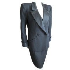 """Yves Saint Laurent vintage """"le Smoking"""" Tuxedo suit"""