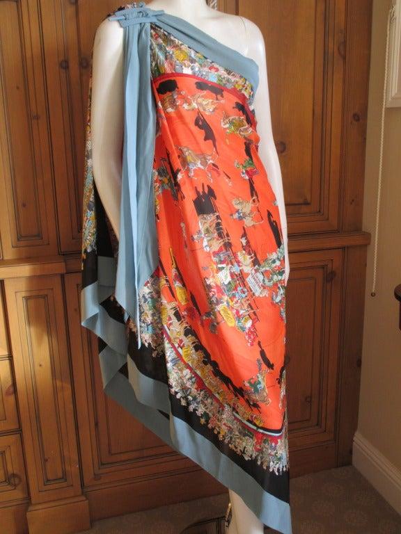 Hermes Jp Gaultier Spring 2011 Silk Mousseline One