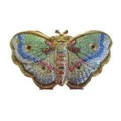 Judith Leiber butterfly minaudier