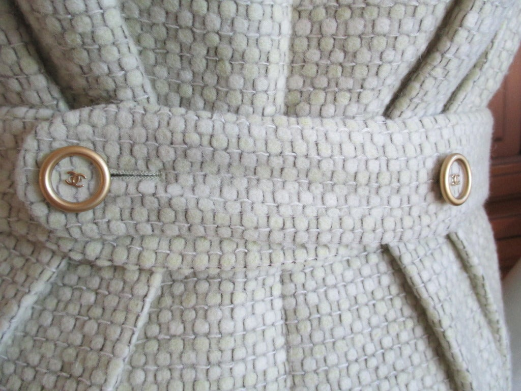 Chanel fish scale sequin dress with matching coat 4
