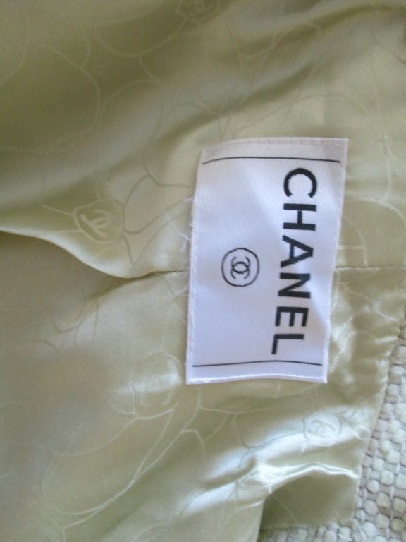 Chanel fish scale sequin dress with matching coat 9