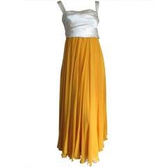 Harvey Berin Bergdorf Goodman 1968 Silk Dress