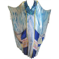 Thea Porter Couture for Martha Palm Beach Sequin Caftan
