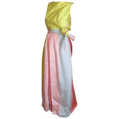 Hannah Troy Sorbet Silk Dupioni Dress
