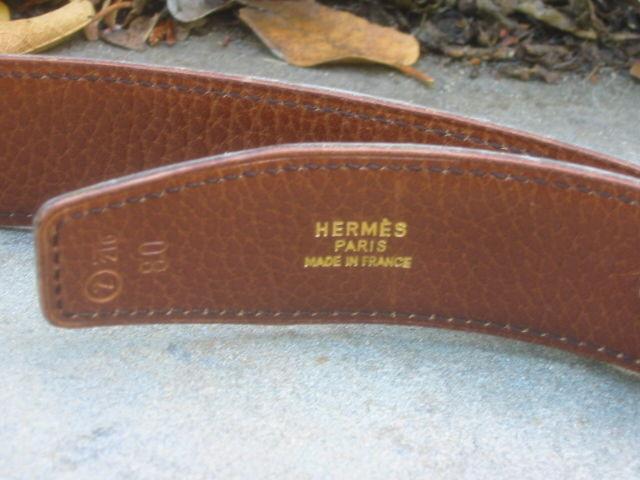 """Hermes Constance Silver """"H"""" Buckle Black Leather Belt 3"""