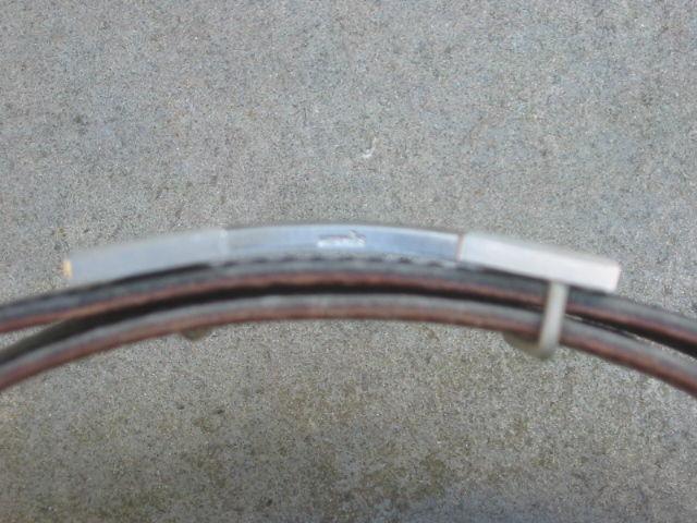 """Hermes Constance Silver """"H"""" Buckle Black Leather Belt 4"""