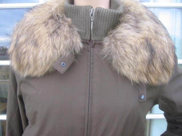 Prada Gor Tex Fur Trimmed One piece Ski Suit sz L 2