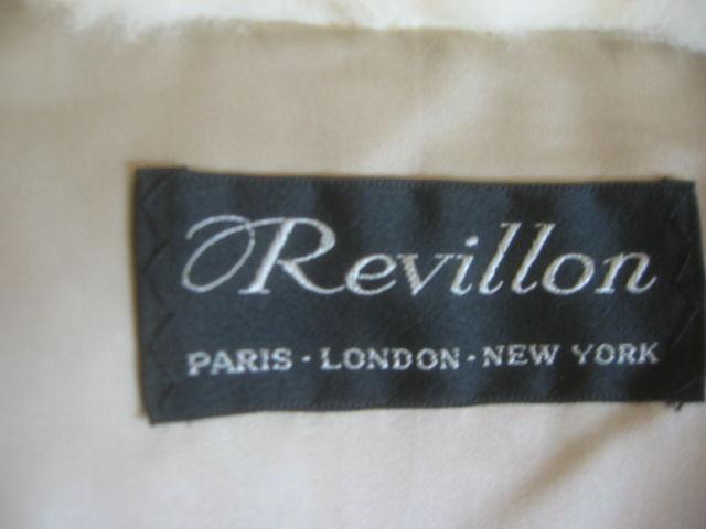 Revillon Luxurious Artic White Fox Fur Coat sz L For Sale 6