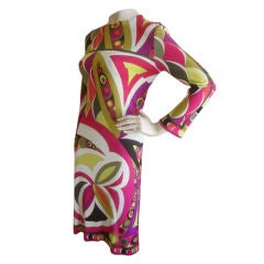 Emilio Pucci Vintage Silk Jersey Dress