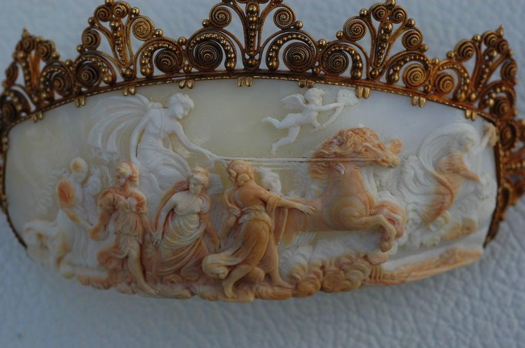 Barbra Streisand's exquisite 1860 Cameo Pin Aurora & Apollo 2
