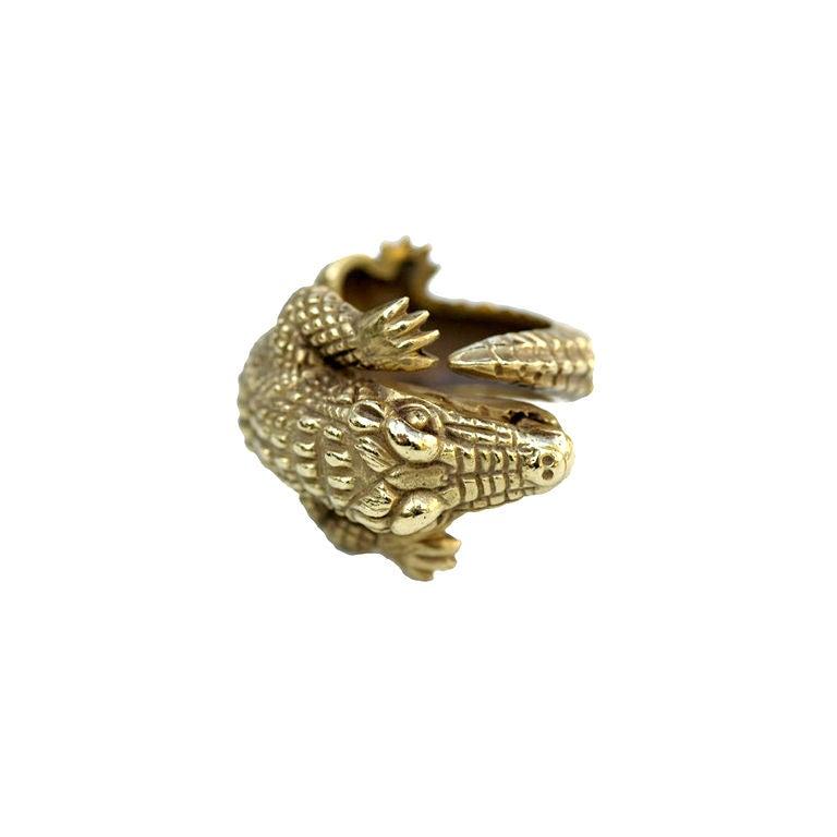 Barry Kieselstein-Cord 18 kt Gold  Alligator Ring 1
