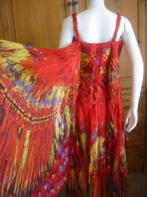 Alexander McQueen Rare Parrot Dress Spring 03 sz 42 2