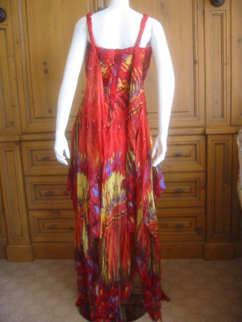 Alexander McQueen Rare Parrot Dress Spring 03 sz 42 3