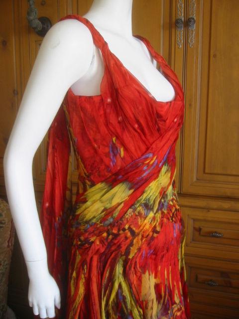 Alexander McQueen Rare Parrot Dress Spring 03 sz 42 4
