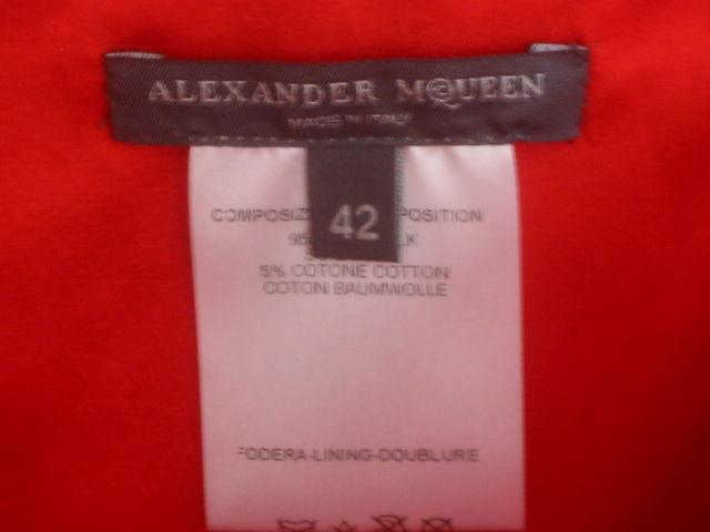 Alexander McQueen Rare Parrot Dress Spring 03 sz 42 7